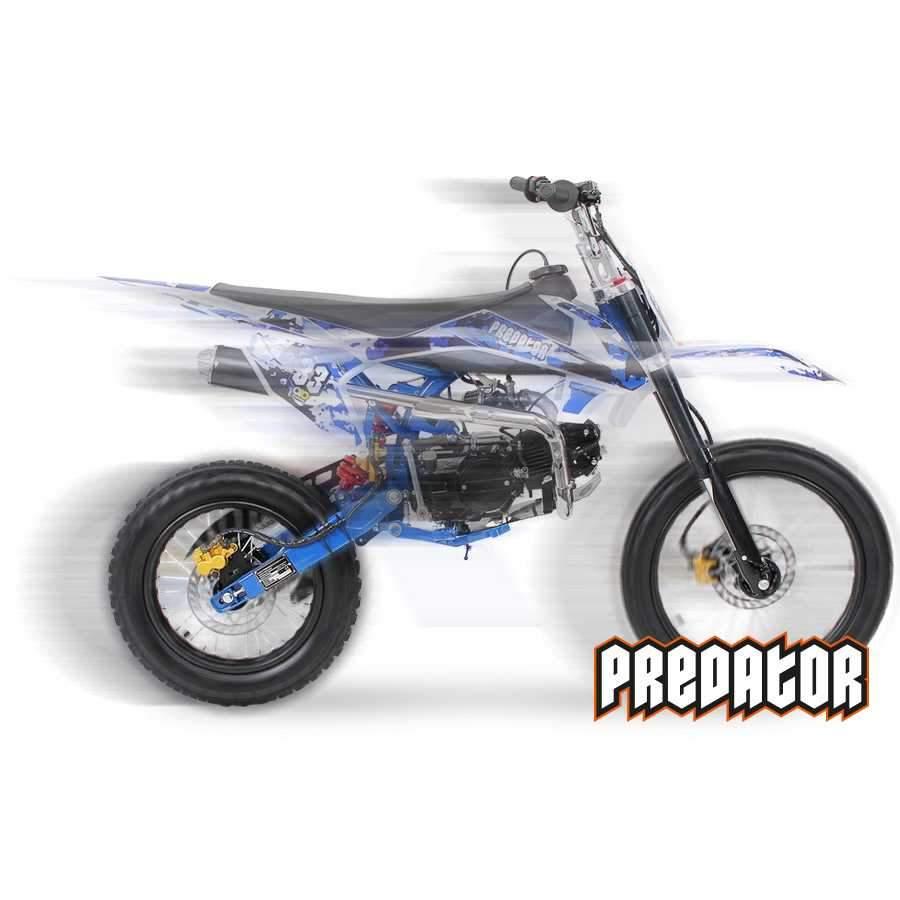 Crossbike Predator 125cc