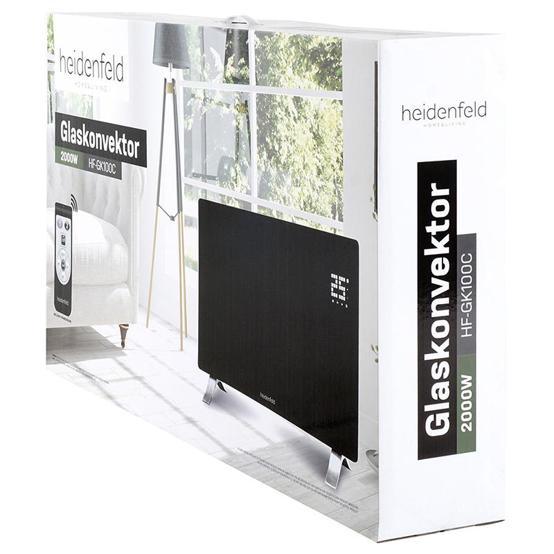Glaskonvektor HF-GK100C 2000W