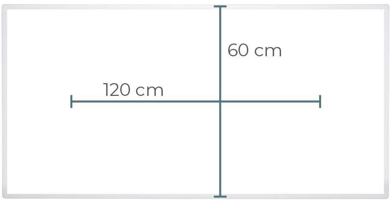 Heidenfeld Heizplatte rechteckig HF-HP100 weiß