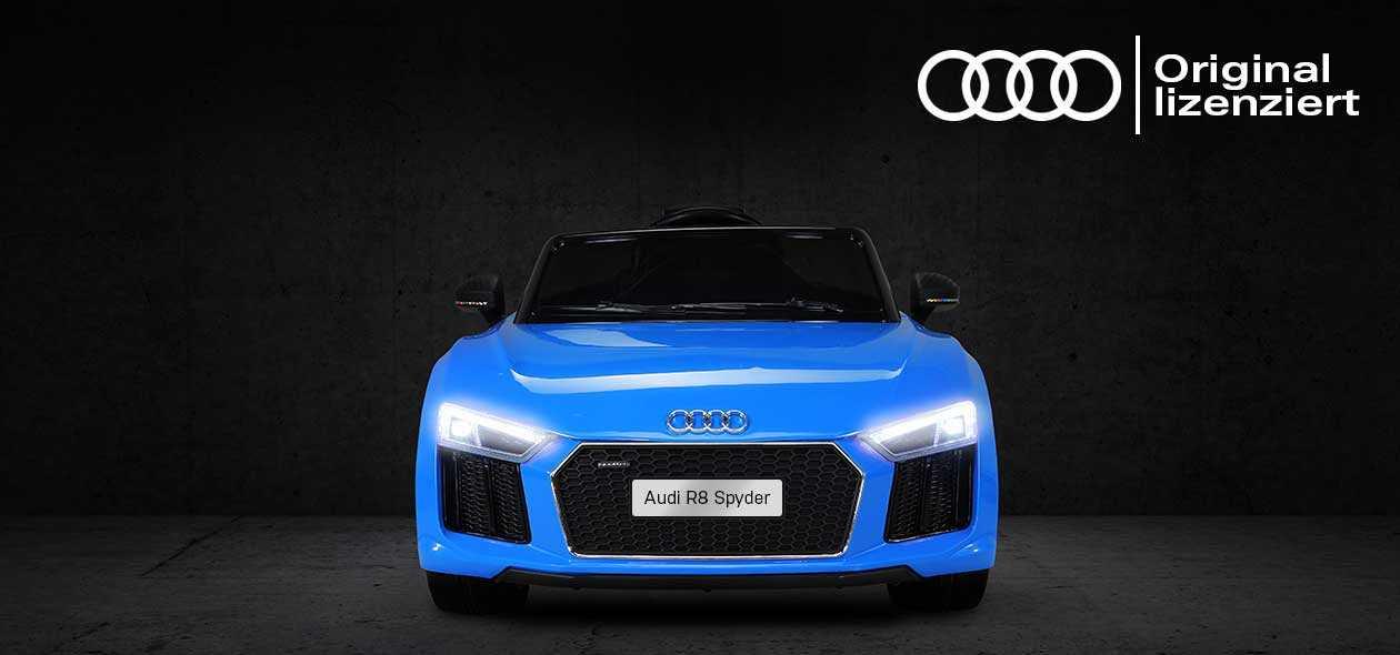 Kinder Elektroauto Audi A8 Spyder Lizenziert
