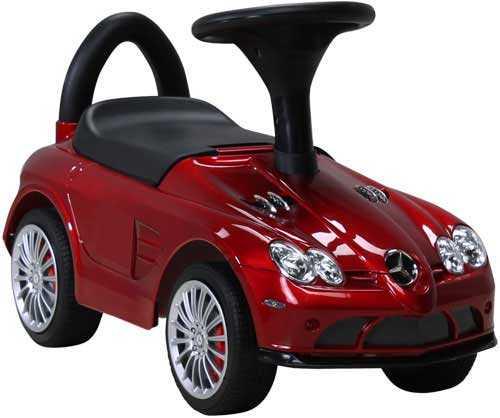 Kinder Rutschauto Mercedes SLR lizenziert - lackiert