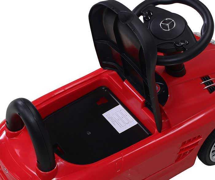Kinder Rutschauto Mercedes SLR lizenziert