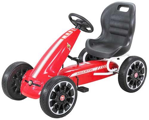 Kinder Pedal Go Kart Abarth