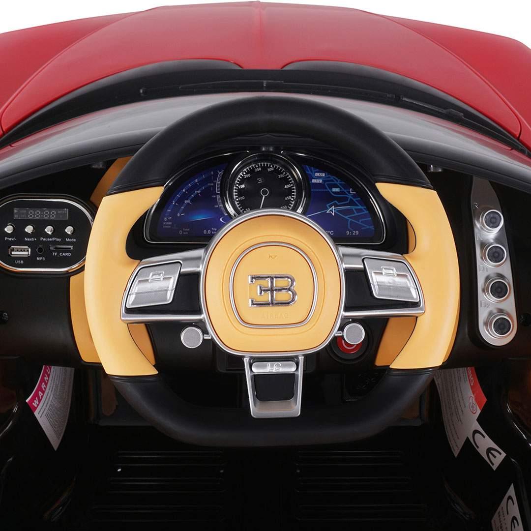 Kinder Elektroauto Bugatti Chiron Lizenziert