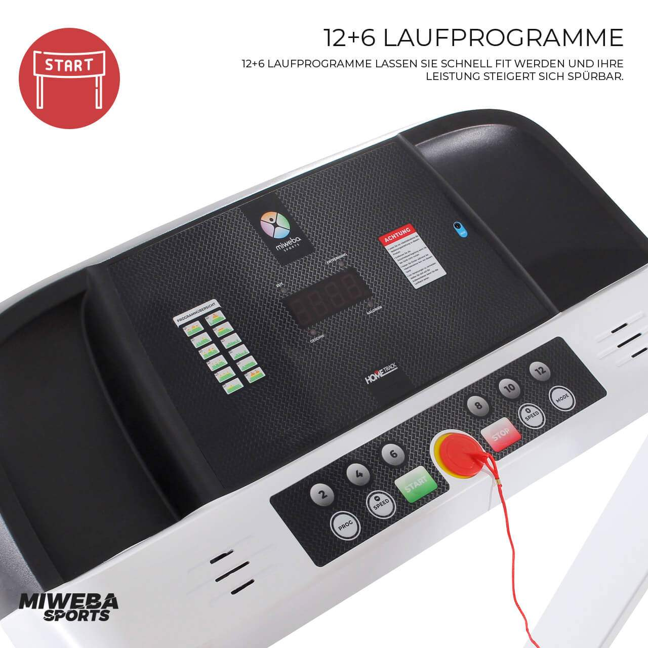 Miweba Sports Laufband Hometrack HT1500