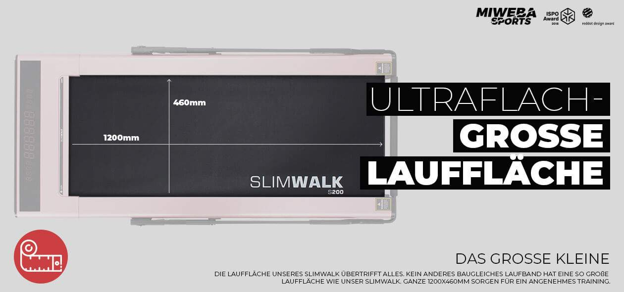 Miweba Sports Laufband SlimWalk S200