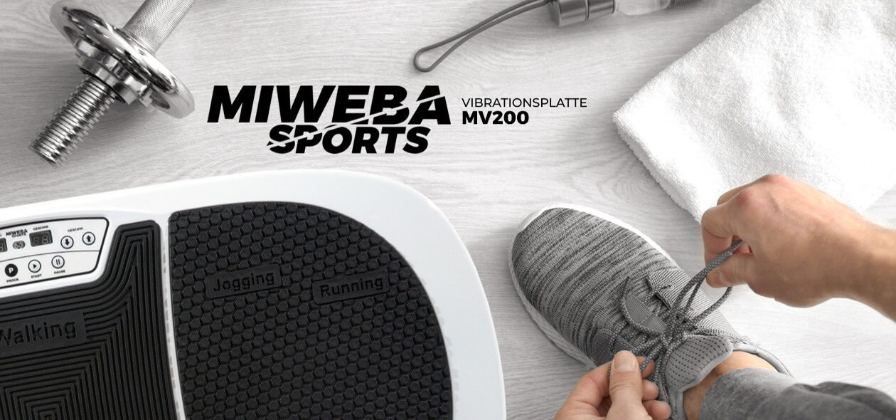 Miweba Sports Vibrationsplatte MV200