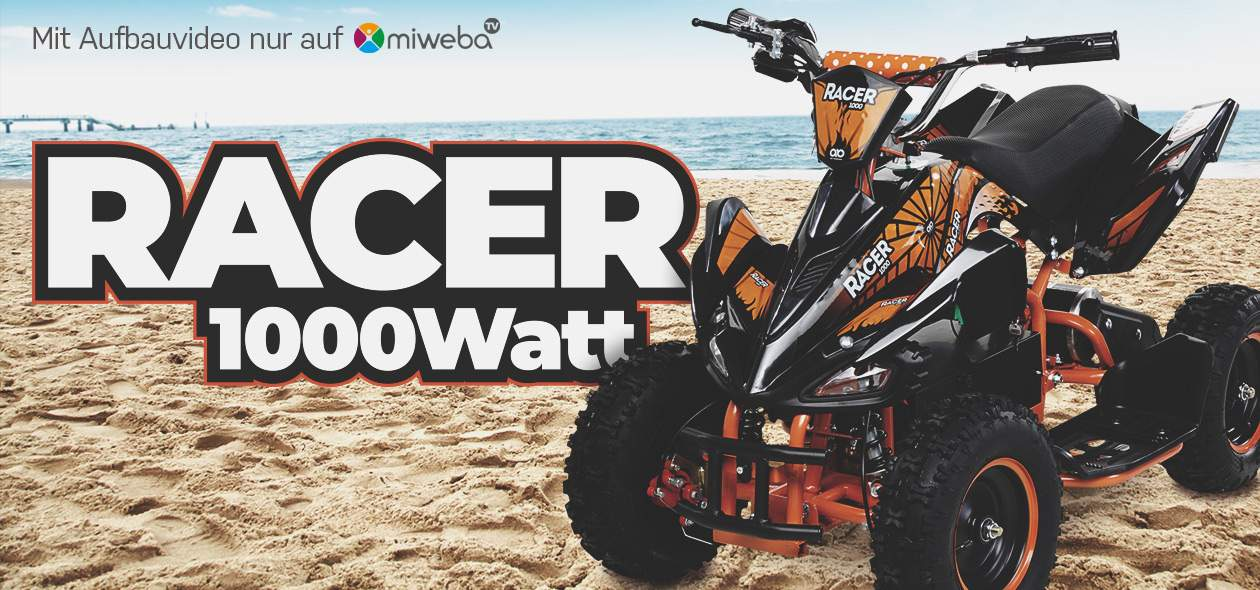 Kinder Quad Racer - 1000 Watt