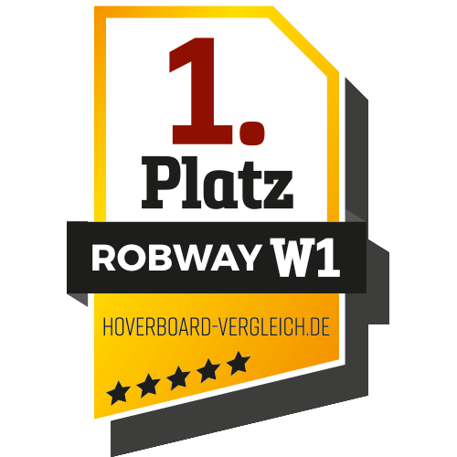 1. Platz bei hoverboard-vergleich.de
