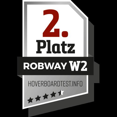 2. Platz bei hoverboard-test.net
